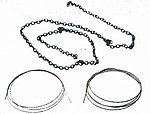 Steel Ropes & Chains -- HO Scale Model Railroad Vehicle -- #741576