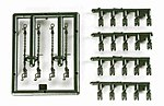 Load Restraints for Trucks, Trailers - Chains & Chocks -- HO Scale Model Railroad Vehicle -- #742283