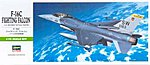 F16C Falcon Aircraft -- Plastic Model Airplane Kit -- 1/72 Scale -- #00232