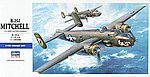B-25J Mitchell -- Plastic Model Airplane Kit -- 1/72 Scale -- #00546
