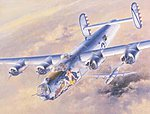 B-24J Liberator -- Plastic Model Airplane Kit -- 1/72 Scale -- #01559