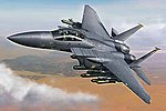 F-15E Strike Eagle -- Plastic Model Airplane Kit -- 1/72 Scale -- #01569