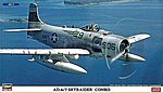 Skyraider Combo LTD -- Plastic Model Airplane Kit -- 1/72 Scale -- #02027