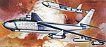 B-47E Strato Jet Bomber USAF -- Plastic Model Airplane Kit -- 1/72 Scale -- #04057