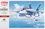 F/A-18F Super Hornet -- Plastic Model Airplane Kit -- 1/48 Scale -- #07238