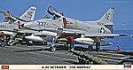 A-4E Skyhawk USS Midway -- Plastic Model Airplane Kit -- 1/48 Scale -- #07377