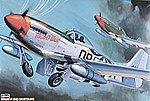 P51D Mustang Fighter -- Plastic Model Airplane Kit -- 1/32 Scale -- #08055