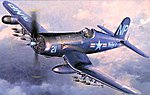 F4U-5N Corsair -- Plastic Model Airplane Kit -- 1/48 Scale -- #09075