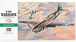 P40E Warhawk US Fighter -- Plastic Model Airplane Kit -- 1/48 Scale -- #09086