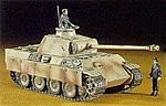 Pz.Kpfw V Panther Ausf.G -- Plastic Model Tank Kit -- 1/72 Scale -- #31109