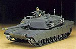 M1 Abrams Tank -- Plastic Model Tank Kit -- 1/72 Scale -- #31133