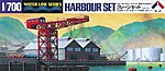 Harbour Set -- Plastic Model Harbour Set Kit -- 1/700 Scale -- #31510
