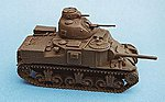 Amer M3A3 Lee welded hull - HO-Scale