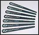 Assorted Hobby Stix Sanding Sticks (7 diff grits/Bag)