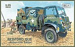 Bedford QLB Bofors Gun Tractor Truck -- Plastic Model Military Vehicle Kit -- 1/35 Scale -- #35018