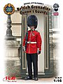 British Queen's Guards Grenadier -- Plastic Model Military Figure Kit -- 1/16 Scale -- #16001