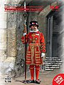 Yeoman Warder (Beefeater) Guard (New Tool) -- Plastic Model Military Figure Kit -- 1/16 -- #16006