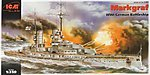 Markgraf WWI German Battleship -- Plastic Model Battleship Kit -- 1/350 Scale -- #s005