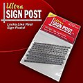 1/24 & 1/32 Ultra Sign Plastic Posts (10) for 7300 & 7400 -- Slot Car Part -- #7450