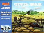 Civil War Accessories -- Plastic Model Military Diorama Kit -- 1/72 Scale -- #507