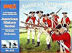 British Redcoats -- Plastic Model Military Figure -- 1/72 Scale -- #512