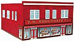 F.W. Woolworth Co. Assembled Perma-Scene -- N Scale Model Railroad Building -- #6317