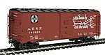 AAR 10'6'' Modified Boxcar Santa Fe Bx-37 Scout -- HO Scale Model Train Freight Car -- #45831