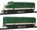 EMD FTA-B Set DCC - Southern Railway -- HO Scale Model Train Diesel Locomotive -- #49216