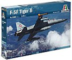F-5F Twin Seater Trainer -- Plastic Model Airplane Kit -- 1/72 Scale -- #1382s