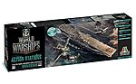 World Of Warships U.S.S. Essex -- Plastic Model Military Ship Kit -- 1/700 Scale -- #46503