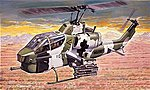 AH-1 Super Cobra -- Plastic Model Helicopter Kit -- 1/72 Scale -- #550160