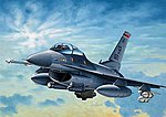 F-16C Night Falcon -- Plastic Model Airplane Kit -- 1/72 Scale -- #550188