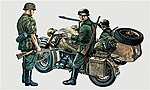 BMW & Sidecar -- Plastic Model Military Vehicle Kit -- 1/35 Scale -- #550315