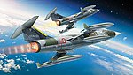 F104G/S Starfighter Aircraft -- Plastic Model Airplane Kit -- 1/32 Scale -- #552502