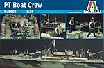 PT Boat Crew Figures -- Plastic Model Military Figure Kit -- 1/35 Scale -- #555606