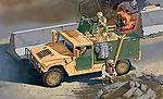 M998 A1 -- Plastic Model Military Vehicle Kit -- 1/35 Scale -- #556511