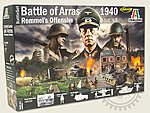 WWII Battle Set 1940 Battle of Arras -- Plastic Model Military Diorama -- 1/72 Scale -- #6118s