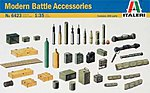 Modern Battle Accessories -- Plastic Model Military Accessories -- 1/35 Scale -- #6423