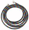 Braided Air Hose 10'