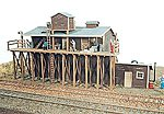 Brookside Ice House -- Model Railroad Building -- HO Scale -- #191
