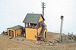 Bagwell Junction Tower Kit -- Model Railroad Building -- HO Scale -- #291