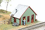 East Junction Yard Office -- Model Railroad Building -- N Scale -- #450