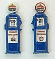 Deluxe Custom Gas Pumps Standard -- Model Railroad Building Accessory -- HO Scale -- #584