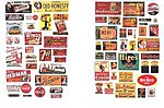Saloon & Tavern Posters & Signs 1930's to 1950's -- Model Railroad Billboard -- N Scale -- #633