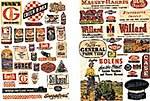 Farm Implement/Feed & Seed Posters 1940's to 50's -- Model Railroad Billboard -- N Scale -- #683