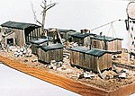 Boyd Logging Camp Wood Kit -- N Scale Model Railroad Buidling -- #1018