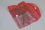 Needle File Set w/Pouch (10 Assorted)