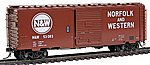 40' Boxcar Norfolk & Western #53083 -- HO Scale Model Train Freight Car -- #5016