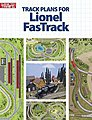 Track Plans for Lionel FasTrack -- Model Railroad Book -- #10-8804