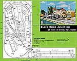 Black River Junction Layout Track Set Unitrack -- HO Scale Nickel Silver Model Train Track -- #30680